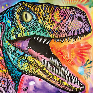 Dinosaurs Canvas Artwork