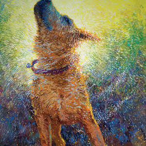 Dogs Canvas Artwork