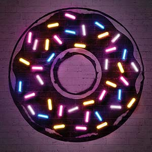 Donuts Canvas Art