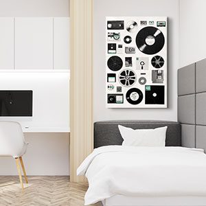 Dorm Room Canvas Art Prints