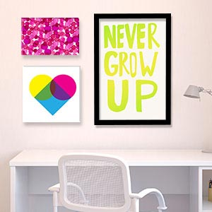 Bold & Bright Canvas Art Prints