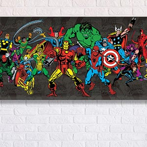 Marvel Canvas Art