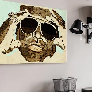 Music Lovers Canvas Wall Art