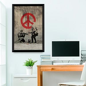 Political Statement Canvas Artwork