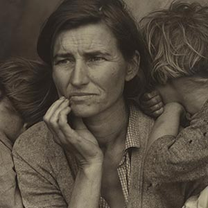 Dorothea Lange Canvas Wall Art