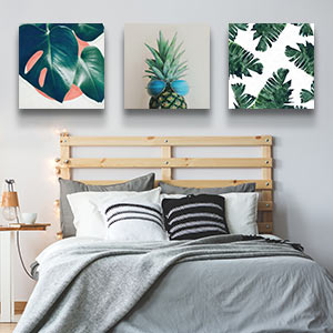 Greenery Canvas Prints
