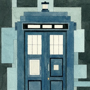 Dr. Who Canvas Art