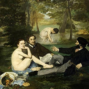Edouard Manet Canvas Art