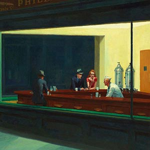 Edward Hopper Canvas Wall Art