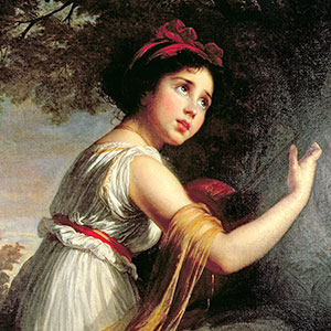 Elisabeth Louise Vigee Le Brun Canvas Artwork