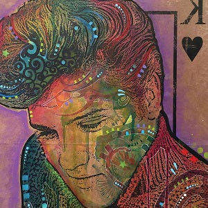 Elvis Presley Canvas Wall Art