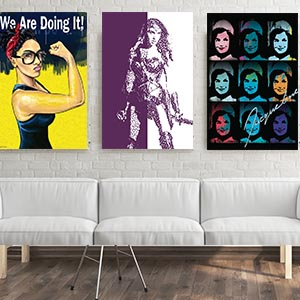 Empowered Women Canvas Wall Art