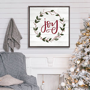 Farmhouse Festive Canvas Art Prints