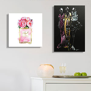 Fashionista Art Prints