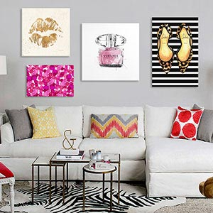 Fashionista Canvas Prints
