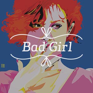 Bad Girl Canvas Artwork