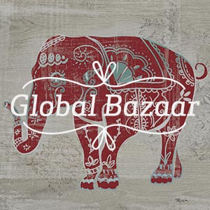 Global Bazaar Canvas Prints