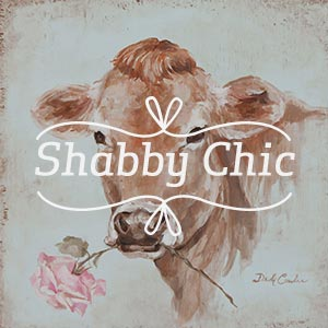 Shabby Chic Canvas Art