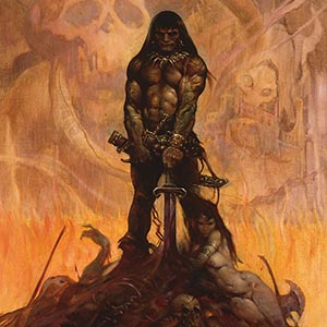 Frank Frazetta Canvas Art Prints