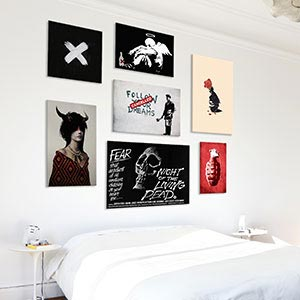 Freaky Alternative Canvas Art Prints