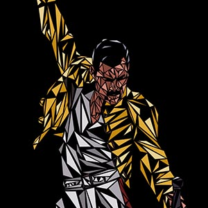 Freddie Mercury Canvas Prints