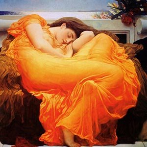 Frederick Leighton Canvas Artwork