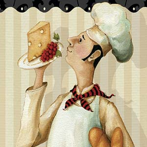 French Cuisine Canvas Wall Art