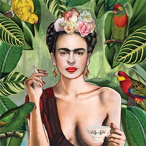 Frida Kahlo Canvas Artwork