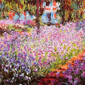 Gardens & Floral Landscapes Canvas Art