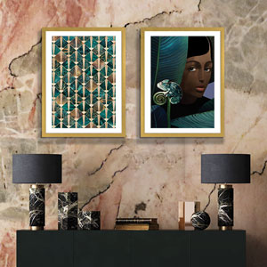 Gatsby Glam Canvas Artwork