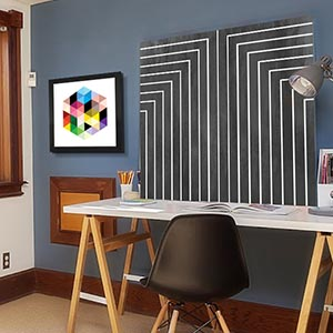 Geometric Pop Canvas Art Prints
