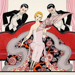 Georges Barbier Canvas Art