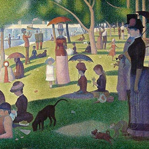 Georges Seurat Canvas Wall Art