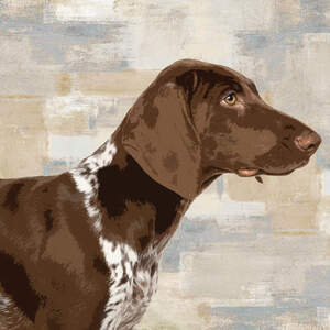 German Shorthaired Pointers Art Prints
