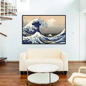 Vintage Art Fine Canvas Wall