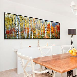 ... Panoramic Canvas Wall Art