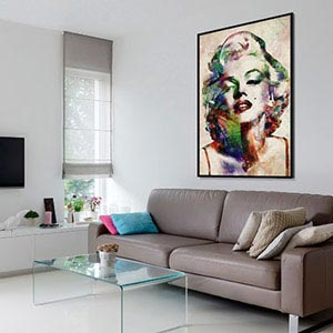 Captivating Maps; Pop Art Canvas Art Prints