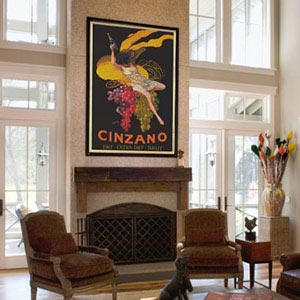 Vintage Art Canvas Prints
