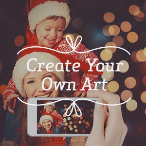 Create Your Own Art Canvas Wall Art