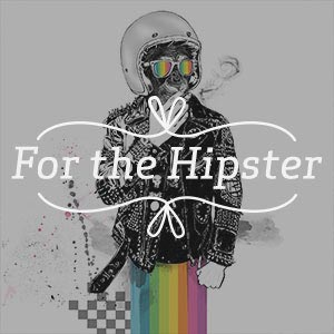 For the Hipster Canvas Wall Art