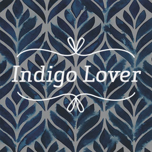 Indigo Lover Canvas Wall Art