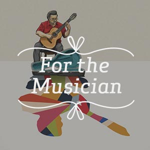 For the Musician Art Prints