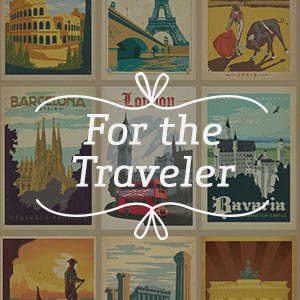 For the Traveler Canvas Wall Art