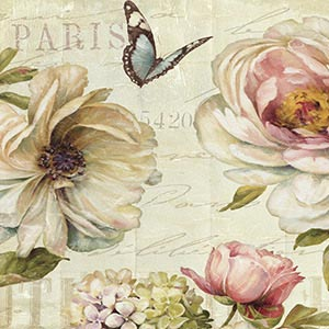 Shabby Chic Canvas Art Prints