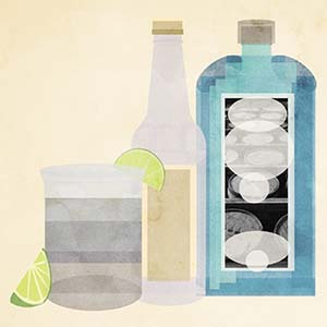 Gin Canvas Art Prints