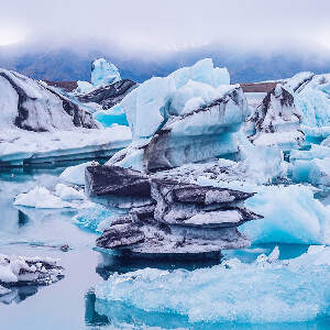 Glaciers & Icebergs Canvas Artwork