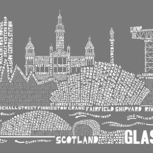 Glasgow Canvas Art