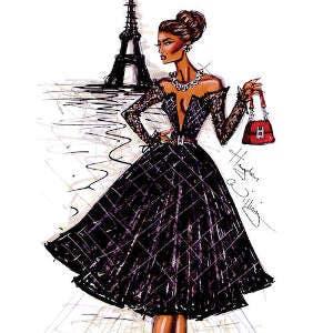 Women Shopping Fashion Canvas Wall Art Picture Print