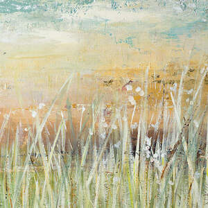 Grasses Canvas Artwork