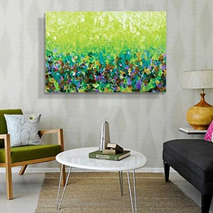 Greenery Dècor Canvas Artwork